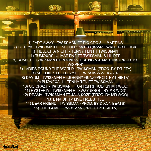 Twissman - Twisstory (Back Cover)