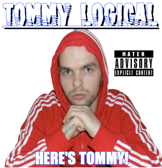 TOMMY LOGICAL HERE'S TOMMY ALBUM COVER (FRONT)