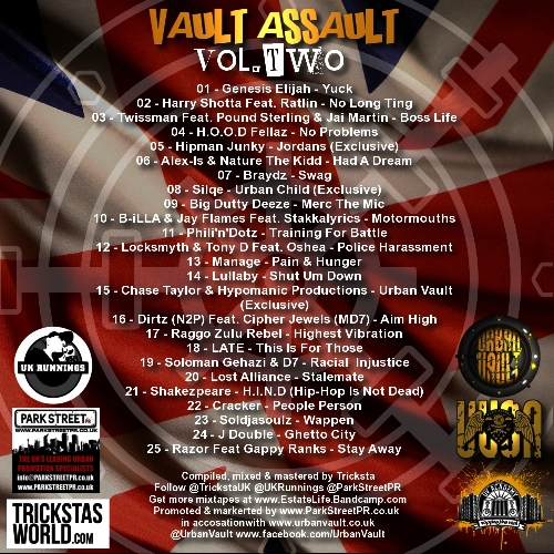 VAULT ASSAULT 2 BACK 500